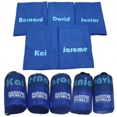 Microfibre Gym Towel In Pouch with Personalised Names