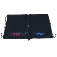 Drawstring Bag with Personalised Names