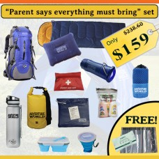 """Parent says everything must bring"" set"
