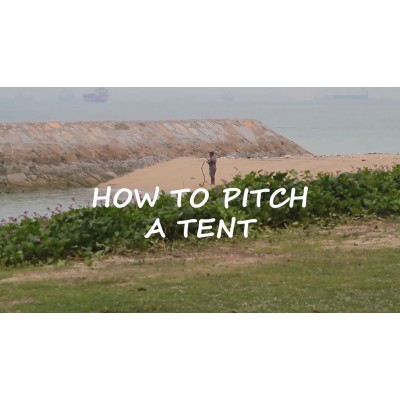 How To Pitch A Camping Dome Tent